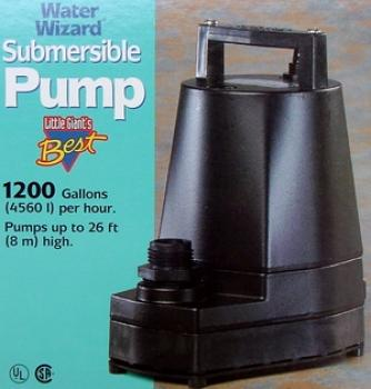 5-MSPR Submersible Utility Pump. 1250 GPH @ 1 ft