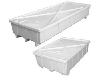 "BOTANICARE� EAZY DRAIN� 100 GALLON BOTTOM TRAY - 81.25"" X 29.5"" X 13.5"""