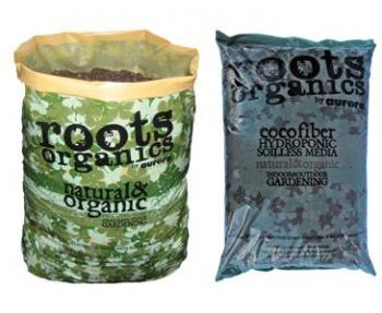 ROOTS ORGANICS NATURAL & ORGANIC POTTING SOIL 1.5 cu ft 34 lbs (60/pallet)