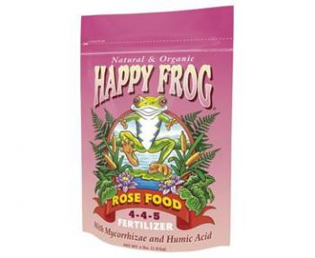 FOX FARM HAPPY FROG� ROSE FOOD 4-4-5 - 4 LB BAG (8/CASE)