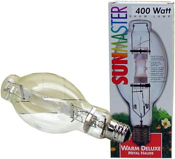 400w 3K Warm Deluxe Metal Halide Lamp (Base Up Burn).