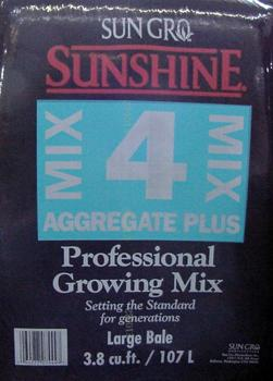 Sunshine Mix #4. 3.8 cu ft