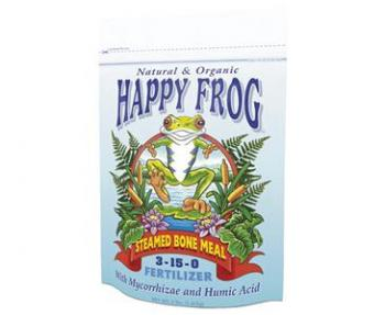 FOX FARM HAPPY FROG® STEAMED BONE MEAL 3-15-0 - 4 LB BAG (8/CASE)