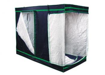 "SUN HUT SILVER LG 2X4 ENCLOSED GREENHOUSES - LARGE - WEIGHS 45 LBS - 2' X 4' X 7' INT DIMENSIONS = 54"" X 35.5"" X 84"""