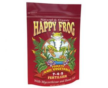 FOX FARM HAPPY FROG® TOMATO & VEGETABLE 7-4-5 - 4 LB BAG (8/CASE)