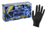 744210 Black Lighting Powder Free Nitrile Gloves Large (100/Box)