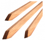 Bond Redwood Tree Stakes 1in x 1in x 4ft (25/Cs)