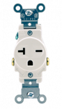 Receptacle 240 Volt - 20 Amp Single