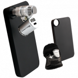 704475 Grower's Edge iPhone Case with LED Pocket Microscope - 60x