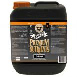 705454 Snoop's Premium Nutrients Grow B Circulating 5 Liter (Hydro Recirculating) (4/Cs)