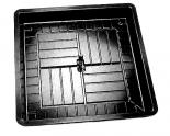 "ECONO HEAVY DUTY 3 X 3 TRAY - 35.25"" X 35.25"" X 4.25"""