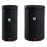 General Hydroponics Covert Tank 33 Gallon - Black