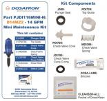 709031 Dosatron Mini Seal Kit for D14MZ2 - 14 GPM