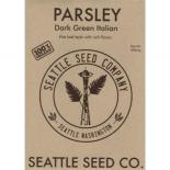 709128 Parsley - Dark Green Italian Flat Leaf OG (Case of 6)