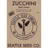 709153 Zucchini - Dark Green  OG (Case of 6)