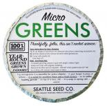 Organic Microgreens Starter Kit (Round Tin) (Case of 12)