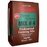 714776 Sunshine # 4 Natural and Organic with Mycorrhizae 3.8 cu ft Compressed Bale (30/Plt)
