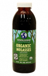 715500 Wholesome Sweetener Certified Organic Molasses 32oz (12/Cs)