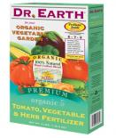 717100 DR. EARTH� TOMATO, VEGETABLE & HERB FERTILIZER 5-7-3 - 4 LB SIZE (12/CASE)