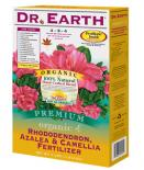 DR. EARTH� RHODENDRON, AZALEA & CAMELIA FERTILIZER 4-5-4 - 4 LB SIZE (12/CASE)