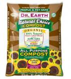 DR. EARTH� NATURAL CHOICE COMPOST MIX - 1.5 CF -  - (56/PALLET) LESS THAN FULL PALLET