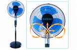 Hurricane Super 8 Digital Stand Fan 16in