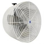 737602 Schaefer Versa-Kool Circulation Fan 20 in w/ Tapered Guards, Cord & Mount - 5470 CFM