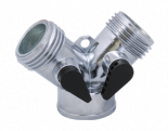 Bond Hose Metal Y-Connector