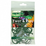 741430 Rapiclip Twist & Clips (12/Cs)