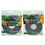 Rapiclip Vinyl Stretch Tie 0.5in (12/Cs)