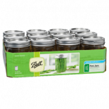 Ball Jars WM Pint and Half 24oz (Case of 9)