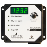Grozone Control SCO2 0-5000 PPM CO2 Controller - Simple One Series