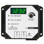 Grozone Control CO2R 0-5000 PPM CO2 Controller with AUX Output and High Temp