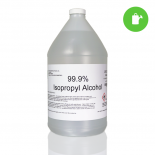 Greenwood ISO 99.9% Gallon Isopropyl alcohol 1 Gallon (Case of 4)