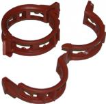 Twine Clips Mega 25mm Terracotta, 100 pack