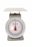 "ACCUZEN SCALE WITH POUNDS & KILOGRAMS ON DIAL 25 lb / 12 Kg - 9"" x 9"" stainless"