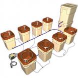 WaterFarm Controller Kit -Terra Cotta (Kit of 8 Farms & Controller)