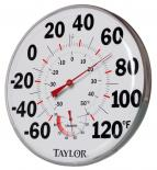 "hf-HGTHG 12"" Temperature/Humidity Gauge"