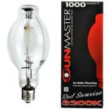 1000w Red Sunset U Metal Halide Lamp
