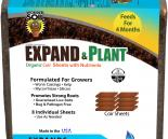 hf-WS20040 Wonder Soil Expand & Plant Organic Coir Sheets with Nutrients, pack of 8