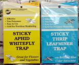 Blue Sticky Traps. 5 per pack