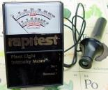 Analog Light Meter.