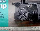 PE-2.5F Submersible Pump. 475 GPH @ 1 ft