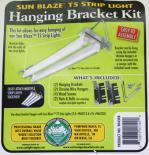 Bracket for the Sun Blaze T5 high output fluorescent strip light.
