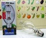 400w 6K Cool Deluxe Metal Halide Lamp (Universal Burn).
