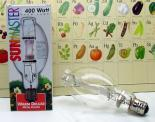 400w 3K Warm Deluxe Metal Halide Lamp (Horizontal Burn).