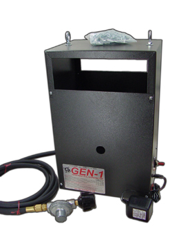 Gen-2 Liquid Propane CO2 Generator with Electronic Ignition.