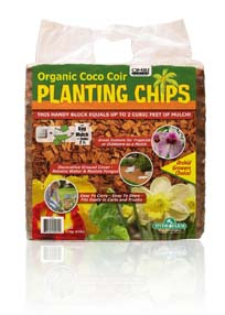 Organic Coco Planting Chips Block