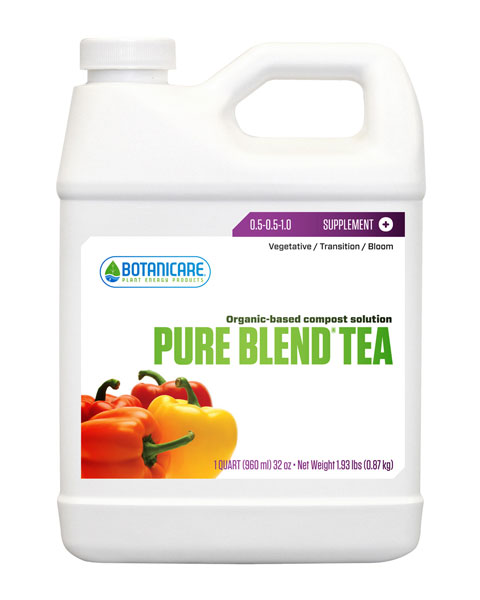 Botanicare Pure Blend Tea - Quart