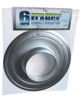 "Active Air 6"" Wide Mouth Flange"